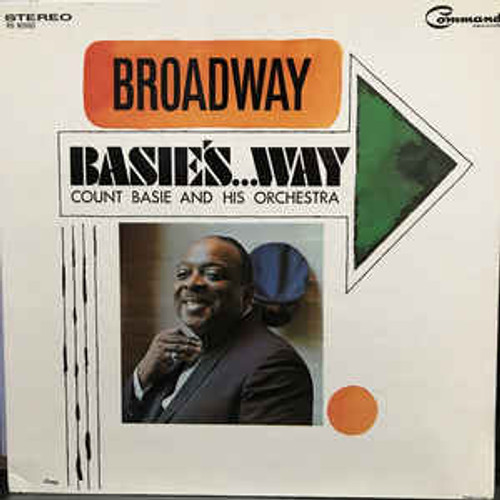 Count Basie And His Orchestra (Broadway Basie's Way) Vinyl LP Record Album Command