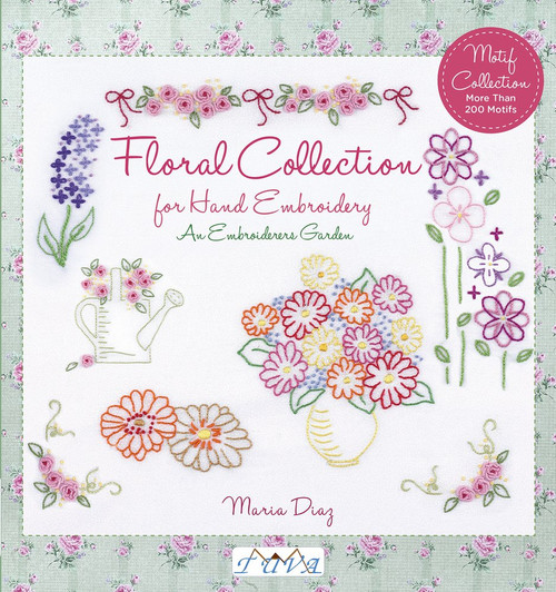 An Embroiderers Garden: Floral Collection for Hand Embroidery by Maria Diaz - Paperback