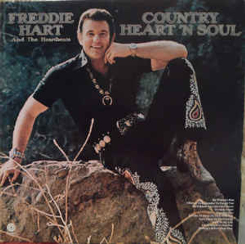 Freddie Hart And The Heartbeats (Country Heart 'N Soul) Vinyl LP Record Album Capitol