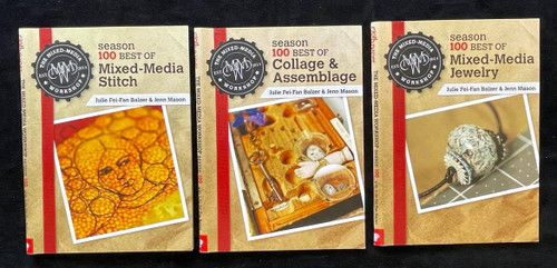 DVDs Only! The Mixed Media Workshop Bundle - Jewelry, Stitch, Collage & Assemblage