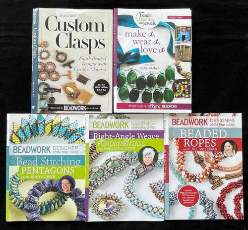 DVDs Only! Beadwork & Beading Bundle -Over 11 Hours!