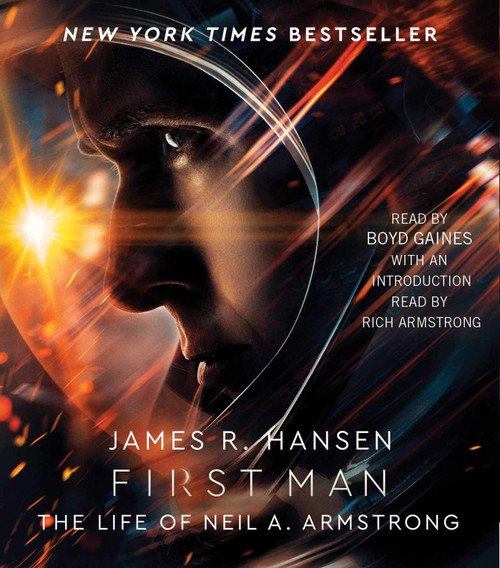 First Man: The Life of Neil A. Armstrong by James R. Hansen Audiobook 8 CDs - Abridged - 9781508268376