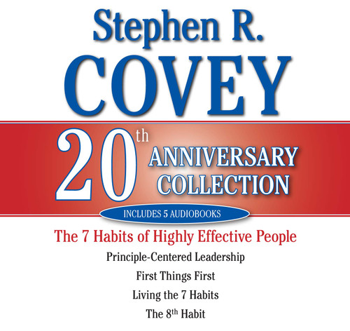 The Stephen R. Covey 20th Anniversary Collection By Stephen R. Covey - Abridged Audiobook 5 CDs - 9780743578028