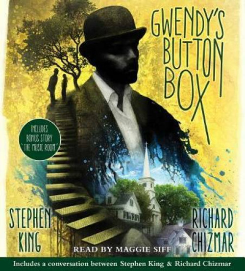 """Gwendy's Button Box: Includes Bonus Story """"The Music Room"""" by Stephen King Unabridged Audiobook 3 CDs - 9781508242048"""