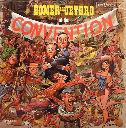 Homer And Jethro (At The Convention) Vinyl LP Record Album RCA