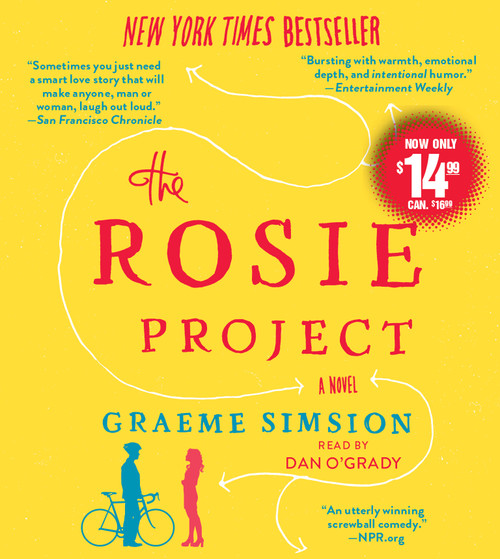 The Rosie Project: A Novel by Graeme Simsion - Unabridged Audiobook 7 CDs -