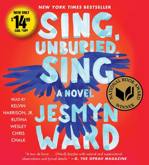 Sing, Unburied, Sing: A Novel by Jesmyn Ward - Unabridged Audiobook 7 CDs - 9781508265153