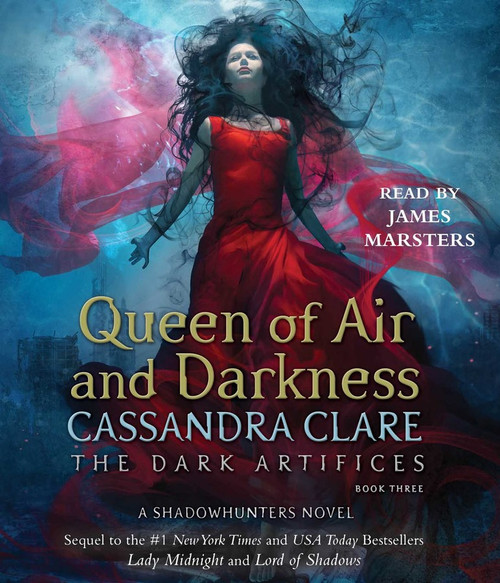 Queen of Air and Darkness (Book #3 of The Dark Artifices) by Cassandra Clare - Unabridged Audiobook 24 CDs - 9781442357167