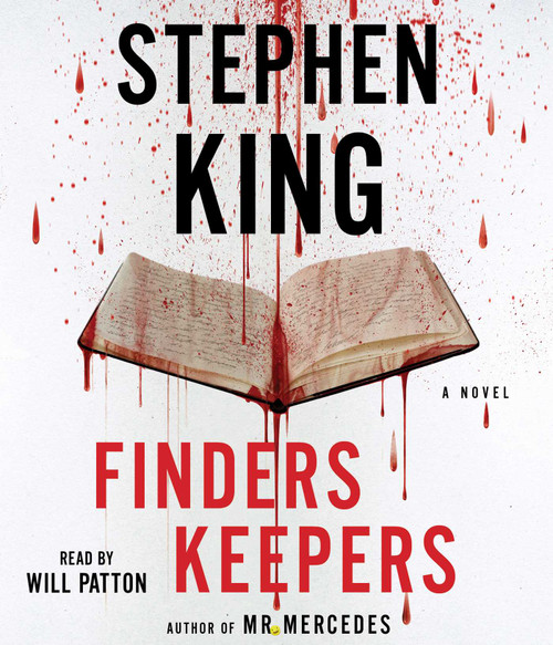 Finders Keepers: A Novel by Stephen King - Unabridged Audiobook 12 CDs - 9781442384347