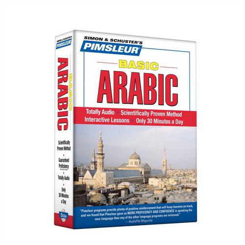 Pimsleur Basic Arabic Lessons 1-10 - 5 CDs