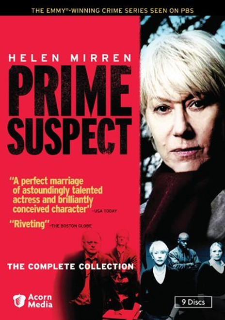 Helen Mirren - Prime Suspect: The Complete Collection - Boxed Set - 9 DVDs
