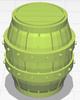 Medium Barrel - Unpainted