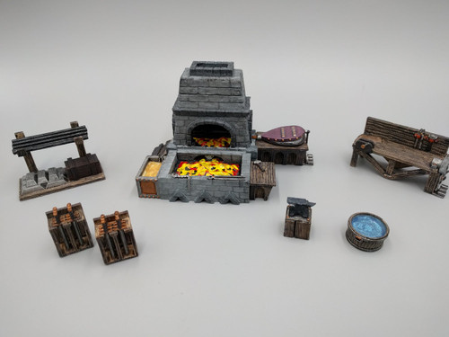 Blacksmith and Forge Workshop