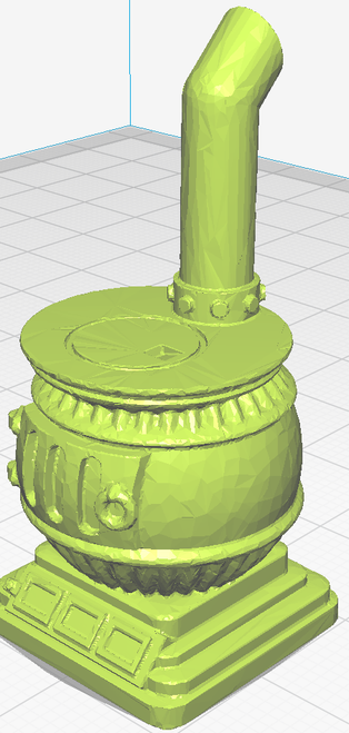 Pot Belly Stove - Unpainted