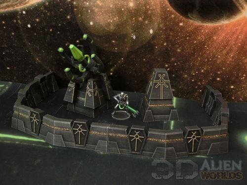 Necrontyr Defence Wall