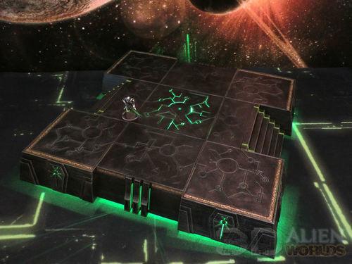 Necrontyr Modular Hill Set