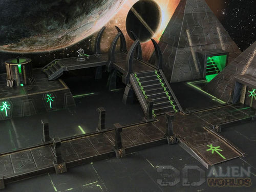 Necrontyr Pathway & Bridge Set Small