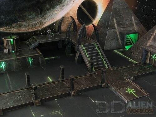 Necrontyr Pathway & Bridge Set Large