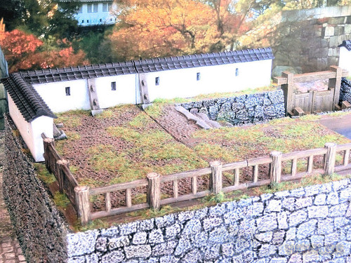 Samurai Castle Wall Set