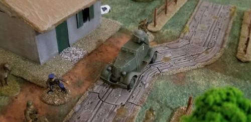 Soviet BA-20 Armoured Car