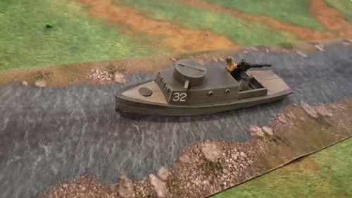 D-Class Riverine patrol boat
