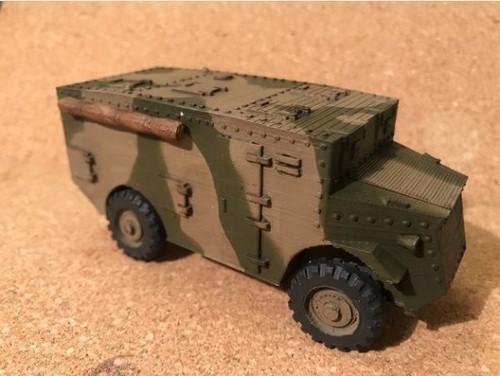 Lizard Armoured Command Post