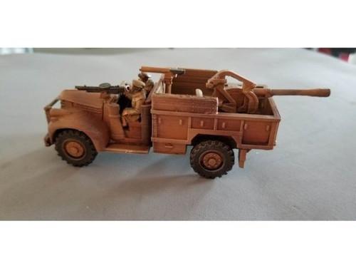 LRDG 30 Cwt truck with 20mm Breda AA gun