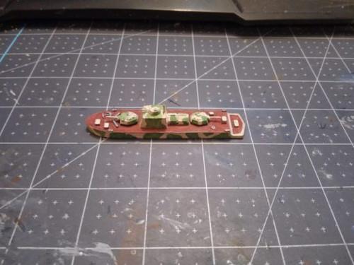 """BKA 1124 """"Bronekater"""" Soviet River Gunboat"""