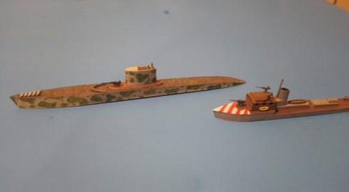 Regia Marina Marconi Class Submarine