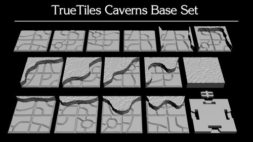 TrueTiles Base Caverns Expansion Pack