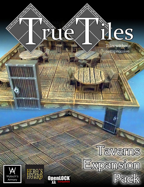 120 PcsTrueTiles Taverns KIt