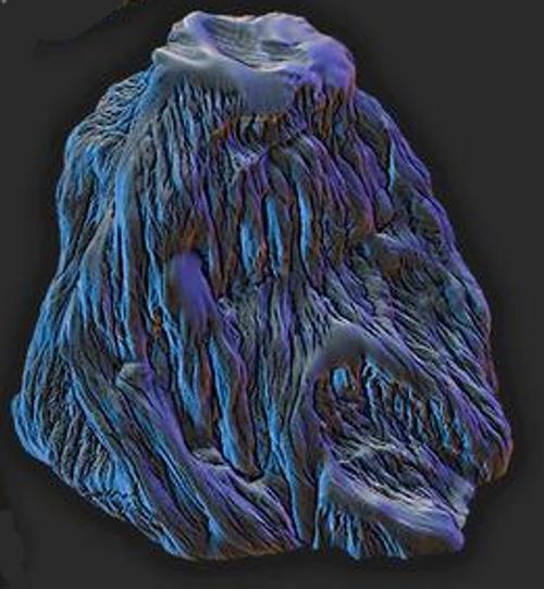 Large Ice Rock