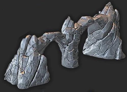 Rock Spine Large