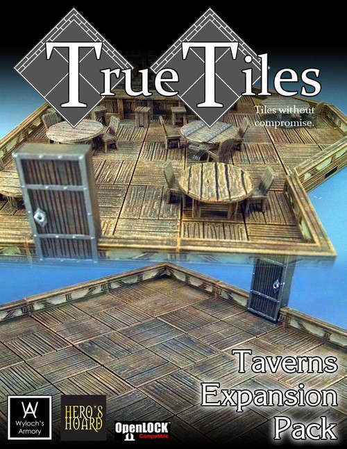 60 Pcs TrueTiles Taverns KIt