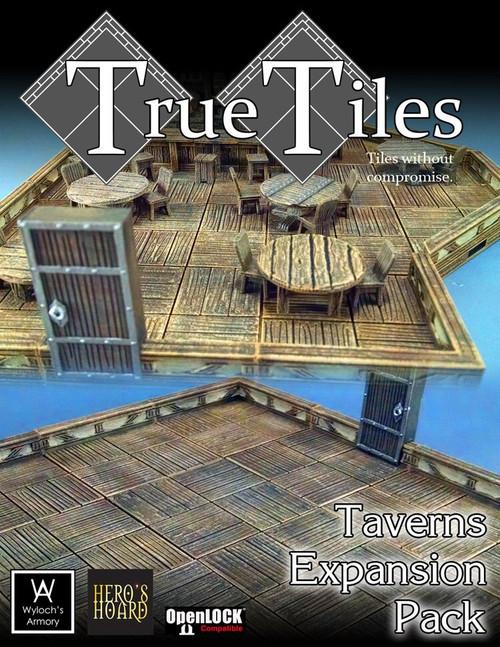 60 Pcs TrueTiles Taverns KIt
