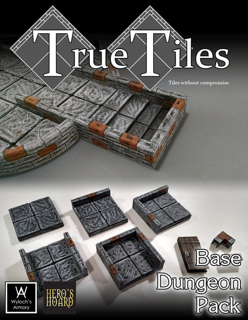 120 pcs True Tiles Base Kit