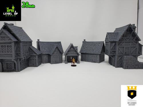 5 Civilian House Bundle
