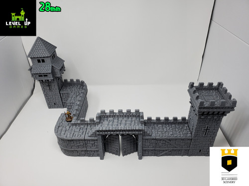 Castle Wall Pack 2