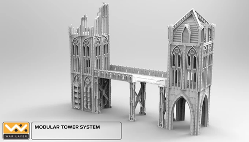 Gothic Small Modular Tower