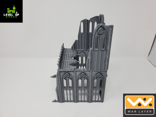 Gothic Building Ruins