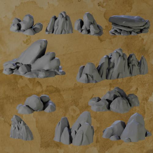 Rocks - 11pcs