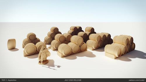 10 Pcs Barrels