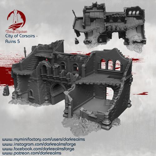 City of Corsairs Building 5 Ruins