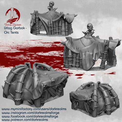 Urlag Orc - Tents 2 Pcs
