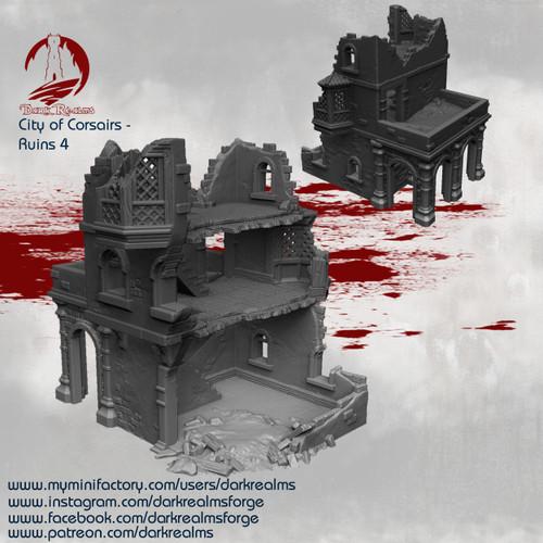 City of Corsairs Building 4 Ruins