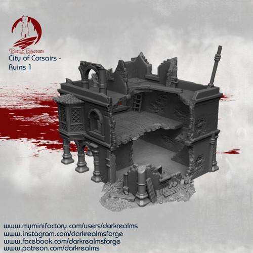 City of Corsairs Building 1 Ruins