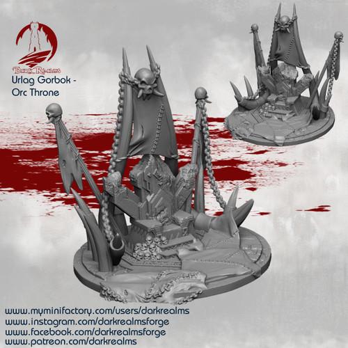 Urlag Orc - Throne