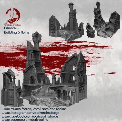 Arkenfel House 6 Ruins