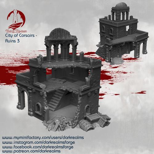 City of Corsairs Building 3 Ruins