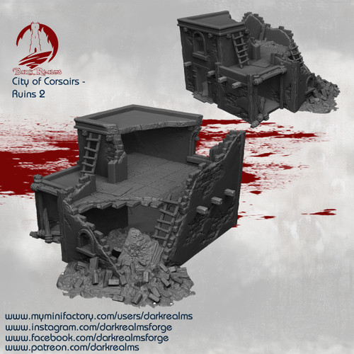 City of Corsairs Building 2 Ruins